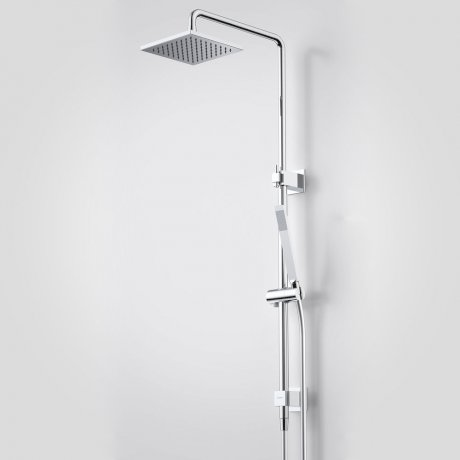 Showers - Track - Track Rail Shower with Overhead