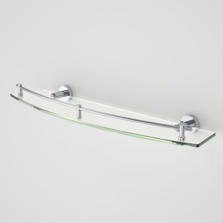 Bathroom accessories cosmo cosmo glass shelf single - Bathroom accessories glass shelf ...