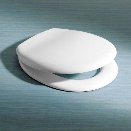 320029W BK Image HeroImage Caroma Avalon Soft Close Seat - White