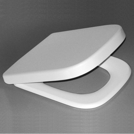 p300024W BK Image HeroImage Caroma Cube Soft Close Seat - White