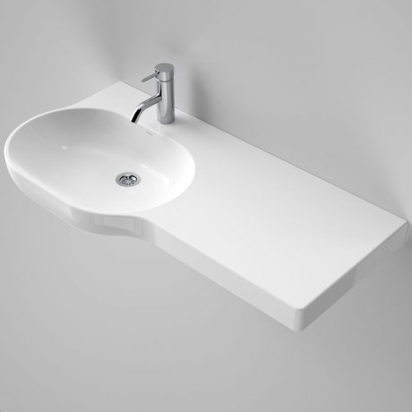 Caroma_Piperita_Opal_920_Wall_Basin_Right_Hand_Shelf_632300W_SI_48584