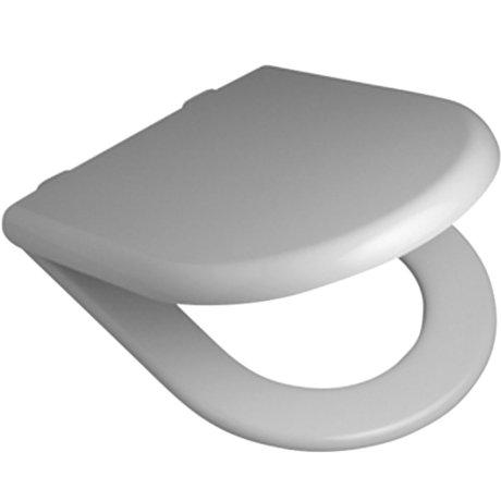813007W BK Image HeroImage Fowler Newport Toilet Seat - Soft-Close Hinge - White