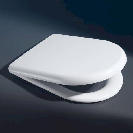813007W BK Image HeroImage Metro Toilet Seat - Wall Hung Pans - Soft-Close Hinge
