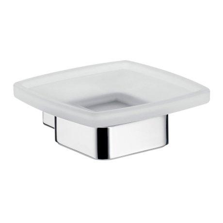 053000100 BK Image HeroImage Emco Loft Soap Holder Crystal