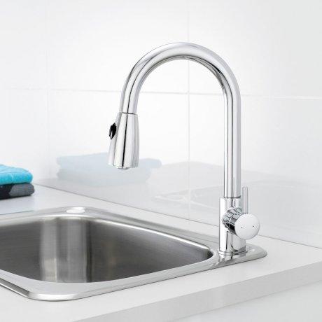 Dual Flow Mixer Taps For Kitchen Sinks
