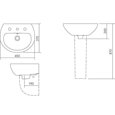 W40201CW BK Image TechnicalImage Stylus Venecia 450 WB BLD