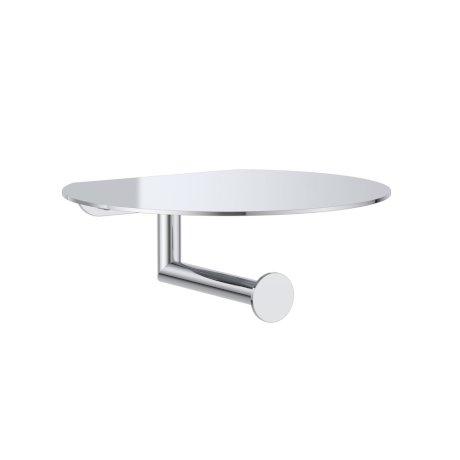 CL60024.C Round Toilet Roll Holder with Shelf - Chrome.jpg
