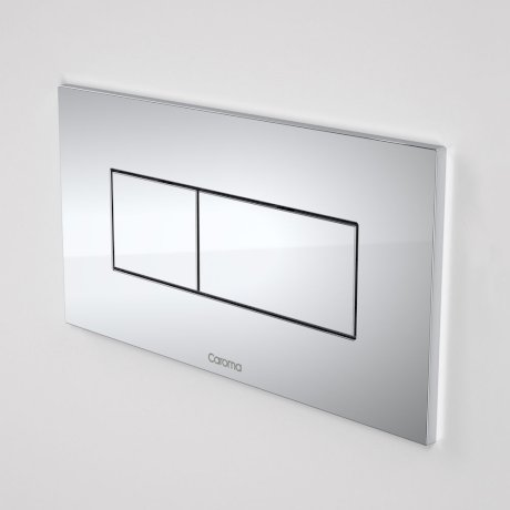 237020C Invisi Series II Rectangle Metal Dual Flush Plate and Buttons - Chrome-sq.jpg