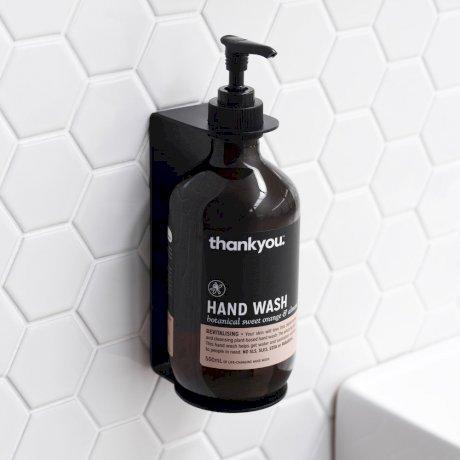 CLARK round soap bottle holder - black.jpg