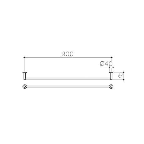 Clark-Round-Single-Towel-Rail-900mm.jpg