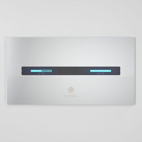 238000C SmartCommand InvisiButtonPanel Metal - Chrome_Front.jpg