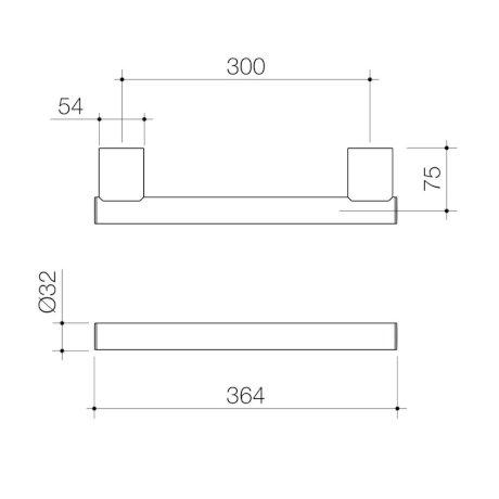 687375C-opal-support-rail-300mm-straight_PL_0.jpg