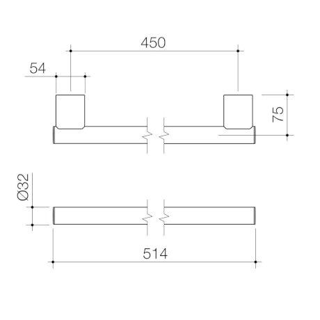 687376C-opal-support-rail-450mm-straight_PL_0.jpg