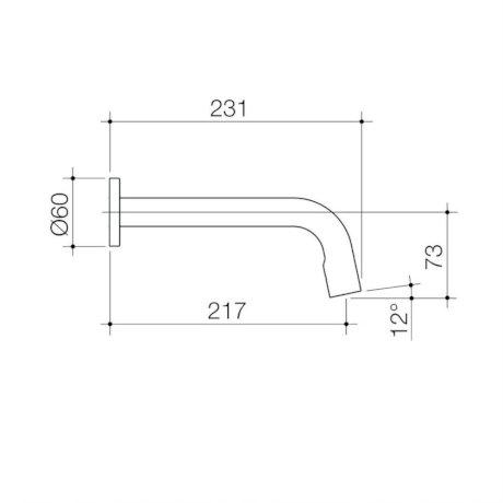 98464C6A_SC Etap Wall Outlet (no back plate) - Trim Kit Chrome_line drawing.jpg