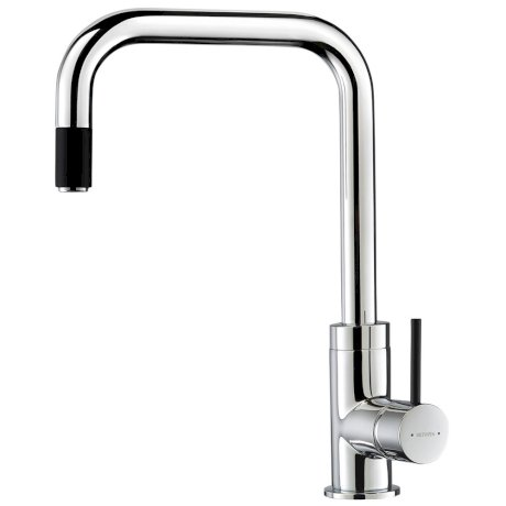 p01-0325 BK Image HeroImage Culinary Urban Pull Out Sink Mixer (Chrome Black)