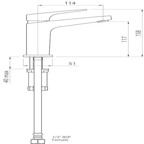 01-8109 Waipori Basin Mixer tech.jpg