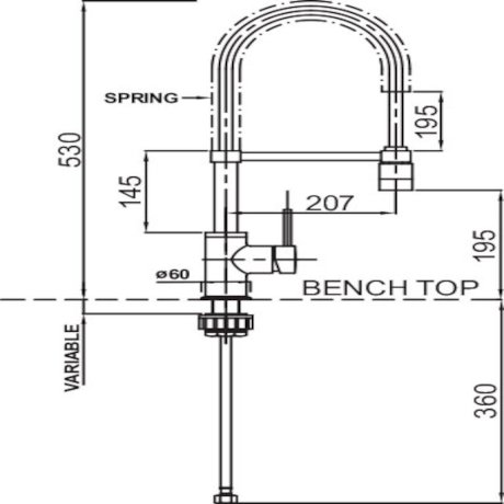 02-9358 Minimalist Spring Pull Down Mixer with Twin Action Spray 2.jpg