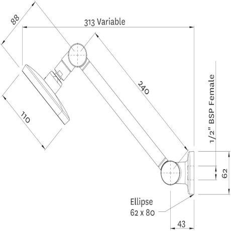 KRHRCPAU Kiri MK2 Hi-Rise Shower Technical Drawing2.jpg