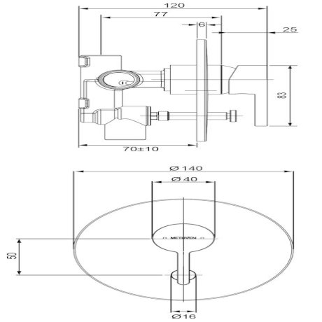 03-9203M Arrow Shower Mixer with Diverter tech.jpg