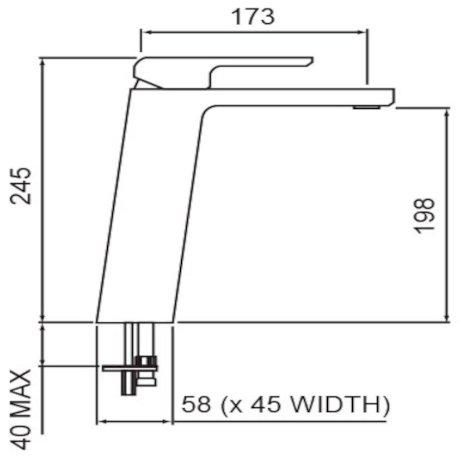 01-5054 Kiri Hi Rise Basin Mixer tech.jpg