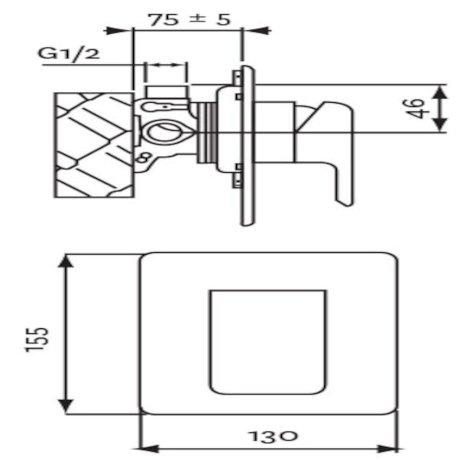 01-5139 Kiri Shower Mixer Brass Plate tech.jpg