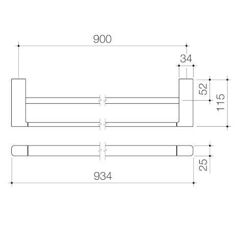 99615C-99615BN-99615BL-99615BB-luna-double-towel-rail-900mm_PL_1.jpg