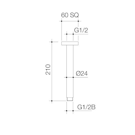 90388C-90388BN-90388BL-90388BB-luna-straight-arm-sq-flange-210mm_PL_0.jpg