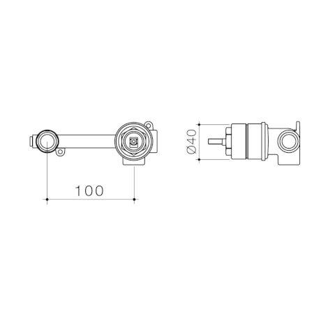 99635 - Caroma Universal - Wall Basin Bath Mixer - Inwall Body.jpg