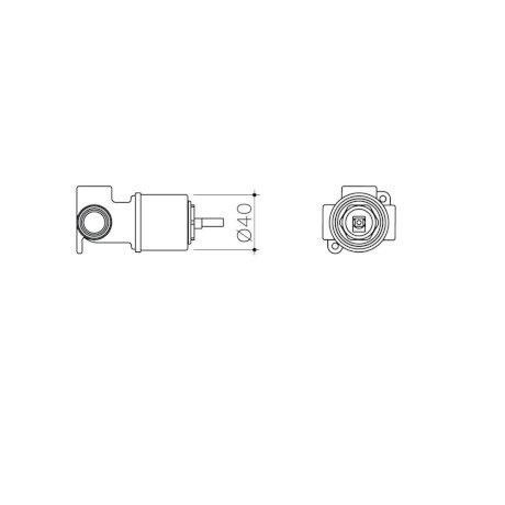 99651 - Caroma Universal - Wall Basin Bath Mixer - Inwall Body.jpg