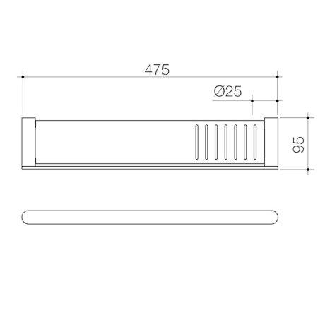 99619C 99619B 99619BB 99619BN 99619GM Urbane II Bathroom Shelf.jpg