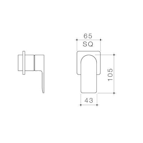 99654C6A 99654B6A 99654BB6A 99654GM6A 99654BN6A - Urbane II - Bath shower Trim Kit - Square Cover Plate.jpg