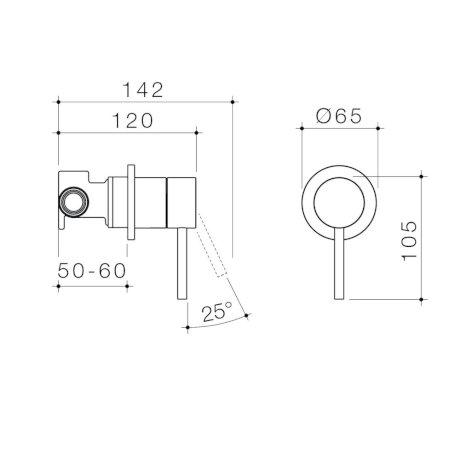96360C 96360B 96360BB 96360BN 96360GM Liano II Bath Shower Mixer (Round Cover Plate) Sales Kit.jpg