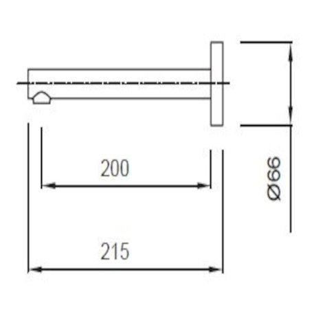 04-2975_Minimalist Wall Mounted Straight Basin SPout - 200mm.JPG