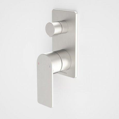 99657BN Urbane II - Bath_Shower mixer with diverter - Rectangular Cover Plate - Brushed Nickel - SALES KIT.jpg