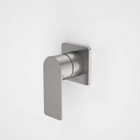 99649GM Urbane II - Bath_shower mixer - Square Cover Plate - Gunmetal - SALES KIT.jpg
