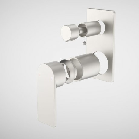 99662BN Urbane II - Bath_shower mixer with diverter Trim Kit - Rectangular Cover Plate - Brushed Nickel.jpg