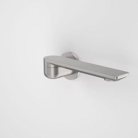 99669GM Urbane II - 220mm Bath Swivel Outlet - Round Cover Plate - Gunmetal_retracted.jpg