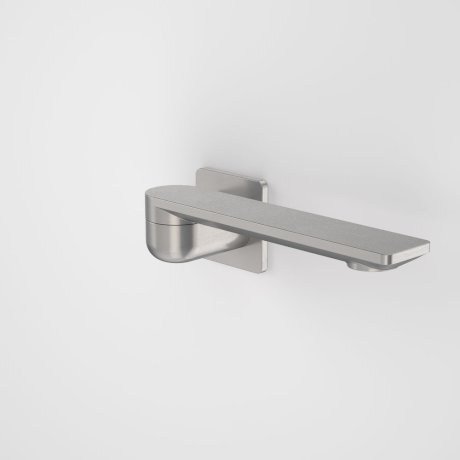 99670GM Urbane II - 220mm Bath Swivel Outlet - Square Cover Plate - Gunmetal_retracted.jpg