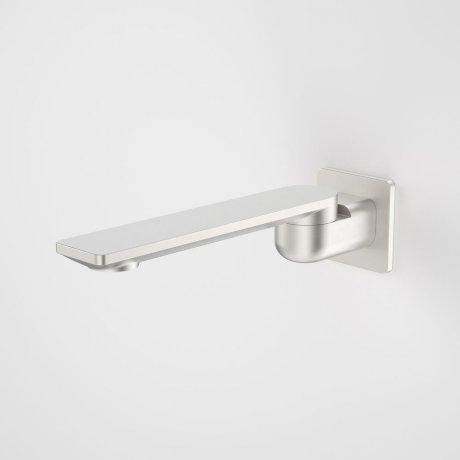 99670BN Urbane II - 220mm Bath Swivel Outlet - Square Cover Plate - Brushed Nickel.jpg