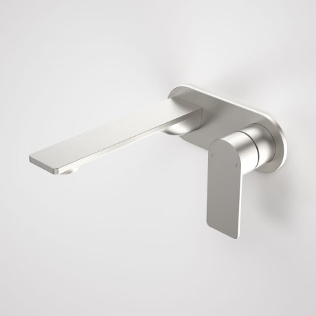 99631BN6A Urbane II - 180mm Wall basin_bath mixer - Rounded Cover Plate - Brushed Nickel - SALES KIT_A.jpg