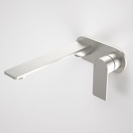 99641BN6A Urbane II - 220mm Wall basin_bath mixer - Rounded Cover Plate - Brushed Nickel - SALES KIT_A.jpg