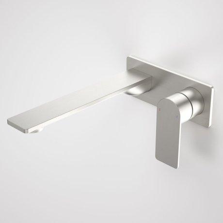 99642BN6A Urbane II - 220mm Wall basin_bath mixer - Rectangular Cover Plate - Brushed Nickel - SALES KIT_A.jpg