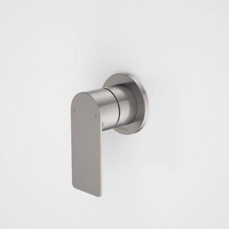 99648GM Urbane II - Bath_shower mixer - Round Cover Plate - Gunmetal - SALES KIT.jpg