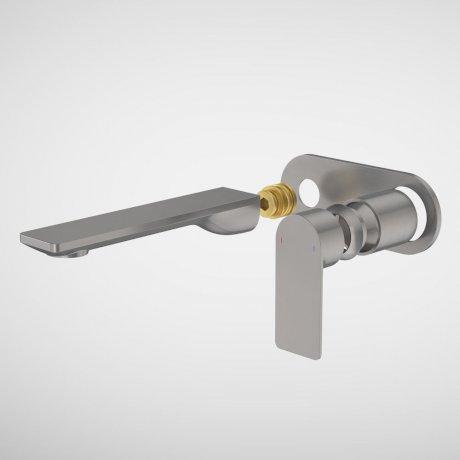99637GM6A Urbane II - 180mm Wall basin_bath Trim Kit -  Rounded Cover Plate - Gunmetal.jpg