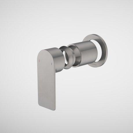 99653GM Urbane II - Bath_shower Trim Kit - Round Cover Plate- Gunmetal.jpg