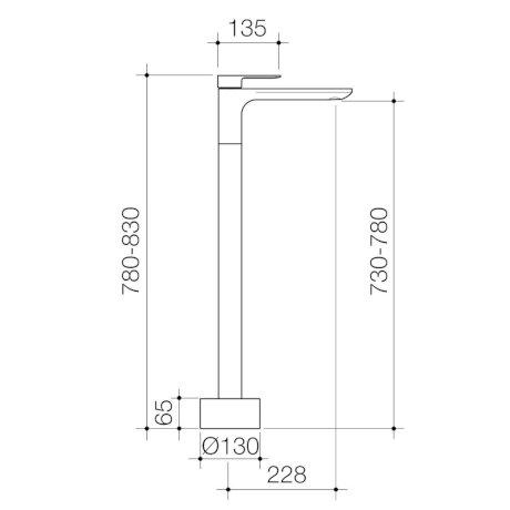 98611C 98611B 98611BB 98611GM 98611BN - Urbane-II - Freestanding Bath Filler.jpg