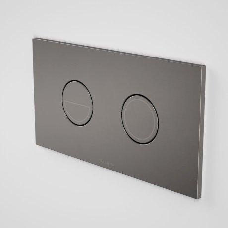 237088GM Invisi Series II - Round Dual Flush Plate & Buttons (Metal) - Gunmetal.jpg