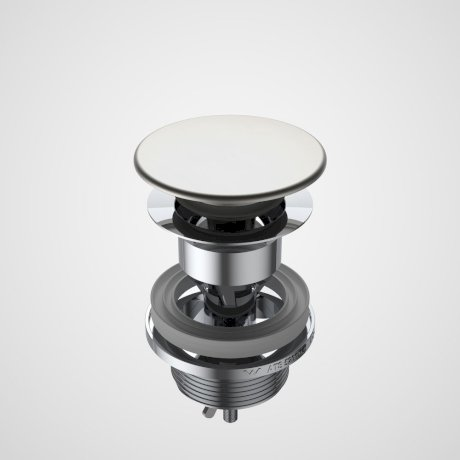 687330BN Basin Dome Pop-Up Plug & Waste - Brushed Nickel.jpg