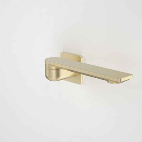 99670BB Urbane II - 220mm Bath Swivel Outlet - Square Cover Plate - Brass_retracted_1.jpg