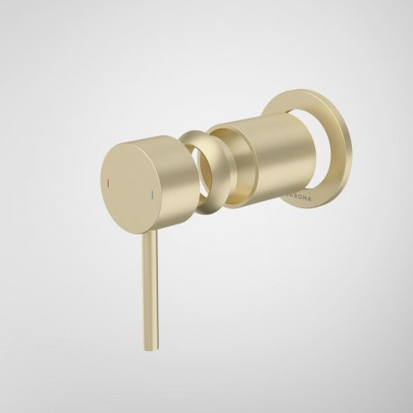 96363BB Liano II Bath Shower Trim Kit - Round Cover Plate - Brushed Brass.jpg